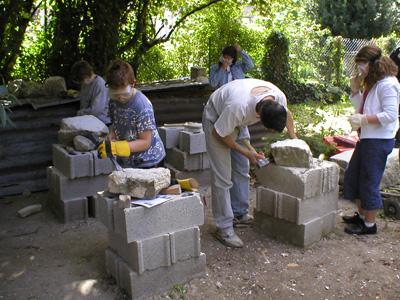 Atelier de taille de pierre