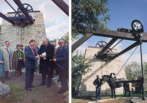 27 10 octobre 1992 : inauguration du treuil