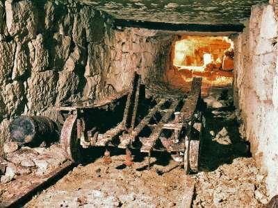 06 1993 Vestiges du wagon plat en bois et fer.