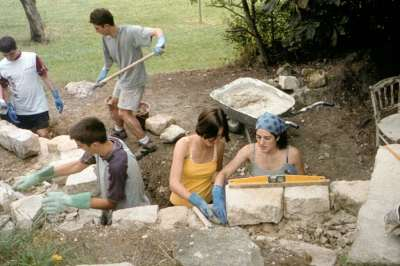 18 2001 Construction du mur.
