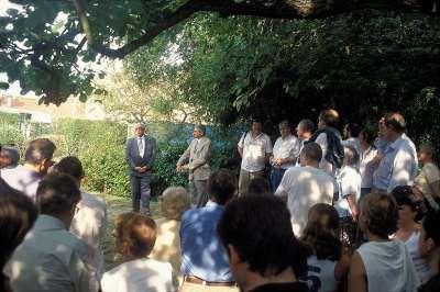 20 2003 Vingtième anniversaire du début des travaux de restauration.