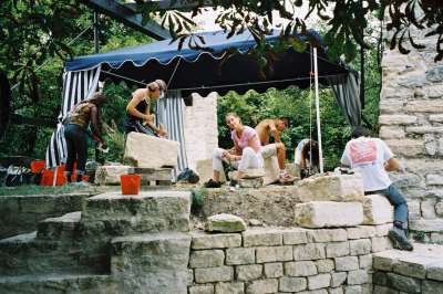 21 2003 Atelier de taille de pierre.