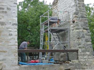 29 2006 Travaux sur la pile Ouest.