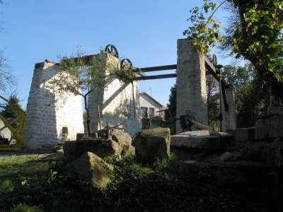 32 2007 Vue Nord ouest après restauration des joints.
